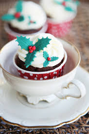 154 best christmas cup cakes images on pinterest christmas