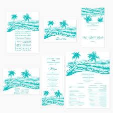 palm tree wedding invitations wedding invitations watercolor palm tree invitations by r2