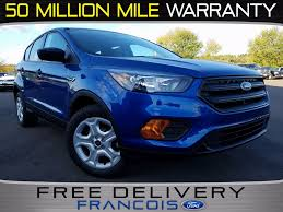 Ford Escape Trunk Space - new 2018 ford escape s 4d sport utility in belleville jua18465