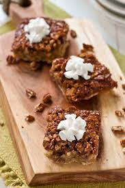 great desserts for thanksgiving pecan pie bars with gluten free option neighborfood