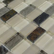 stone glass mosaic tilessmoky mountain straight joint with marble
