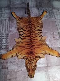 real tiger skin rug for sale home design ideas
