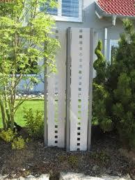 sichtschutz stelen aus metall raumteiler zaun metallmoebel24