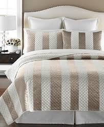 Martha Stewart Duvet Covers Closeout Martha Stewart Collection Siena Stripe Quilt And Sham