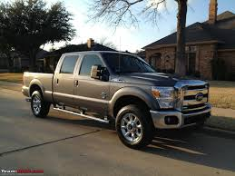Ford F250 Truck Accessories - my ford f250 4x4 diesel truck team bhp