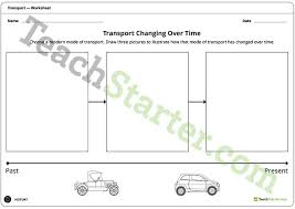 transport then and now lesson plan u2013 teach starter