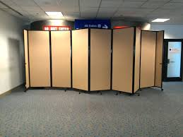 half wall room divider non permanent room dividers divider walls on wheels for office