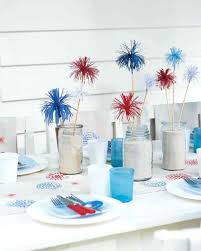 vintage wedding party favors patriotic red white and blue crafts