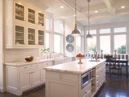 houzz kitchens with white cabinets houzz white kitchens kitchen traditional with island coffered ceiling