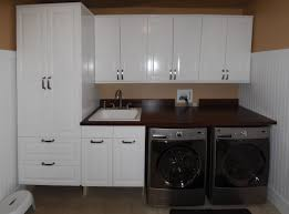 many gorgeous ikea laundry room designs chatodining high white beadboard with brown wall paint color background plus ikea laundry room set