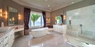 stylish transitional master bathroom robeson design san diego realie