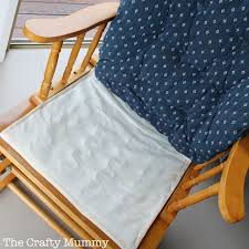 how to cover a chair how to cover a chair cushion the crafty mummy
