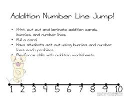 hopping bunny number line addition hopping bunny by mrs tpt