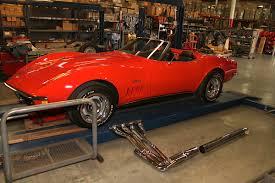corvette c3 headers side mount c3 exhaust look no further than doug s headers