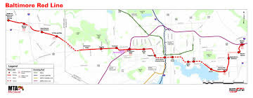 Redline Metro Map by Larry Hogan Couldn U0027t Have Canceled The Red Line So Easily If A New