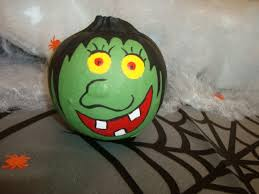 Halloween Witch Craft Ideas by Mini Witch Painted Pumpkin Crafts Pinterest Witch Painting