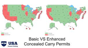Ccw Map Enhanced Permits And Their Role In Concealed Carry Reciprocity