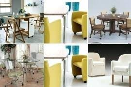 Kitchen Chairs On Wheels Swivel Dining Chairs With Wheels Chair And Brakes Set Casters Swivel W