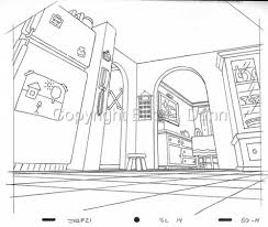 bg layout artist background layout for the simpsons