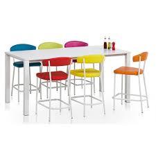 table cuisine hauteur 90 cm table rectangulaire stratifié verona ht 75 ou 90 cm