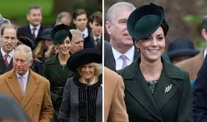 the royal family attend sandringham church for service