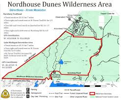 Michigan Trail Maps by Nordhouse Dunes Wilderness Mi U2013 July 2014 Backpacking Trip Report