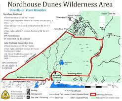Michigan On Map Nordhouse Dunes Wilderness Mi U2013 July 2014 Backpacking Trip Report
