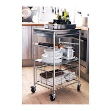 Kitchen Island On Wheels Ikea Grundtal Kitchen Cart Stainless Steel Kitchen Carts Kitchens