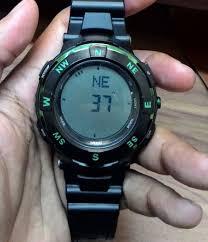 Jam Tangan Casio Medan gadoga cara kalibrasi compass digital dan setting jam tangan