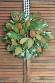 Magnolia Leaf Wreath Diy Magnolia Wreath For Fall Southern State Of Mind