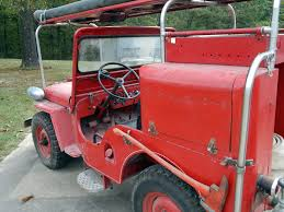jeep fire truck for sale classic military vehicles your source for vintage flat fender