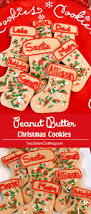 peanut butter christmas cookies two sisters crafting