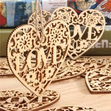 10pcs diy wood craft hanging decoration craft gift