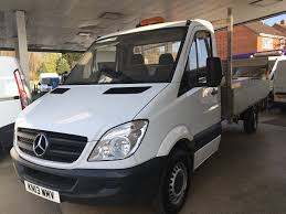 used mercedes benz sprinter 313 cdi tail lift dropside 13ft6 body