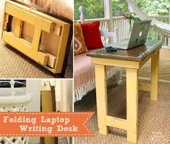 Laptop Writing Desk Folding Laptop Writing Table Tutorial Dremelmaker Pretty