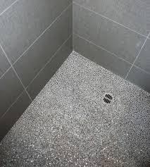 Bathroom Shower Floor Tile Ideas Grey Shower Floor Tile Alphanetworks Club