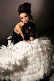 black swan feather prom dress promaholics