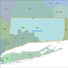 Michigan Area Code Map Connecticut Area Code Maps Connecticut Telephone Area Code Maps