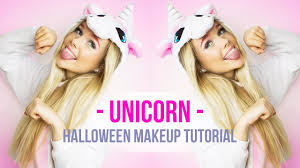 halloween makeup tutorial easy easy unicorn halloween makeup tutorial i dresslily halloween