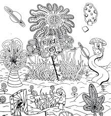 trippy coloring pages medium size of page psychedelic