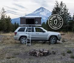 overland jeep tent explorer series hard shell roof top tent