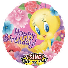 singing balloon delivery tweety pie singing balloon singing balloons