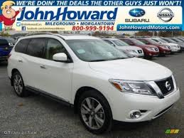 nissan pathfinder gun metallic 2015 pearl white nissan pathfinder platinum 4x4 98767109 photo 3
