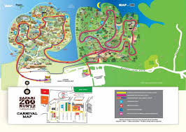 singapore zoo map map of zoo singapore republic of singapore
