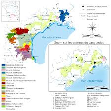 Wine Map Of France by Languedoc Roussillon Wine Wikipedia