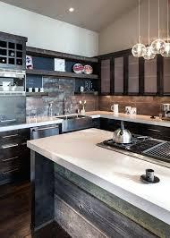 Modern Kitchen Interiors Rustic Contemporary Kitchen Medium Size Of Kitchen Rustic Modern