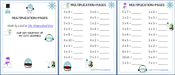 free multiplication worksheets homeschool free 6th grade math