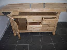 wns rubberwood workbench wb08 w neal services