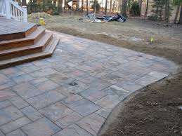 Deck And Patio Combination Pictures by Back Yard Patio Design Clifton Park Ny Landscaping And