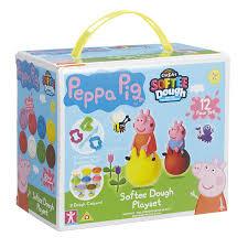 peppa pig softee dough playset multi colour peppa pig amazon